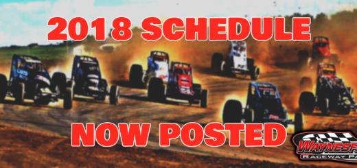 2018 Schedule Released