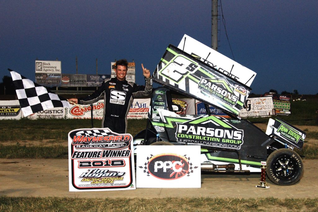 Brad Strunk - Performance Powder Coating AMSA Mini Sprint Winner
