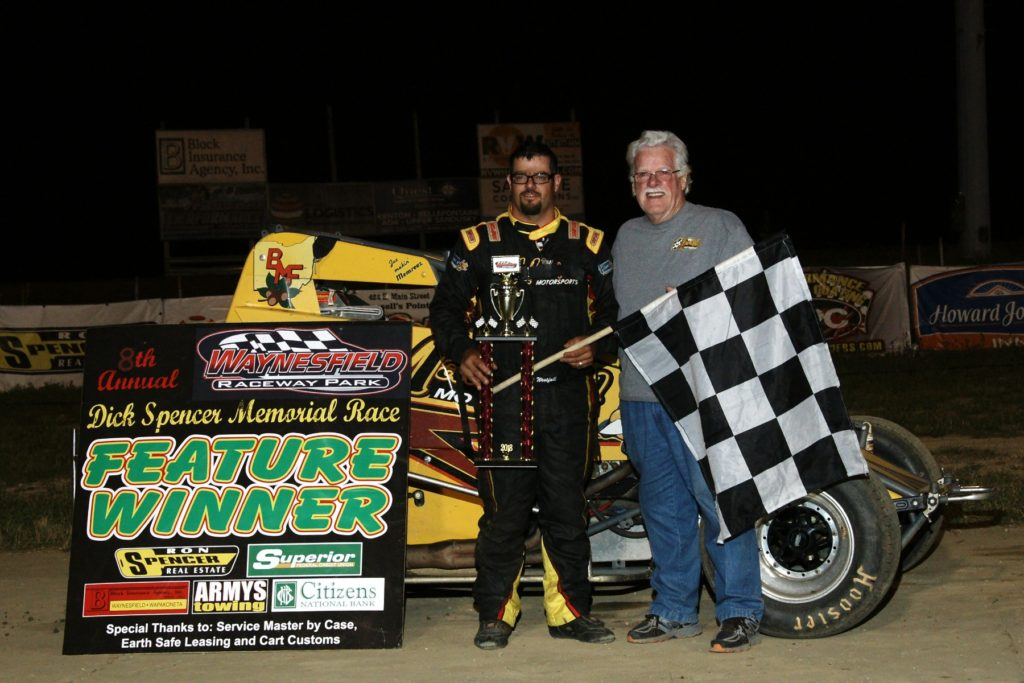 Matt Westfall - Dick Spencer Memorial Winner