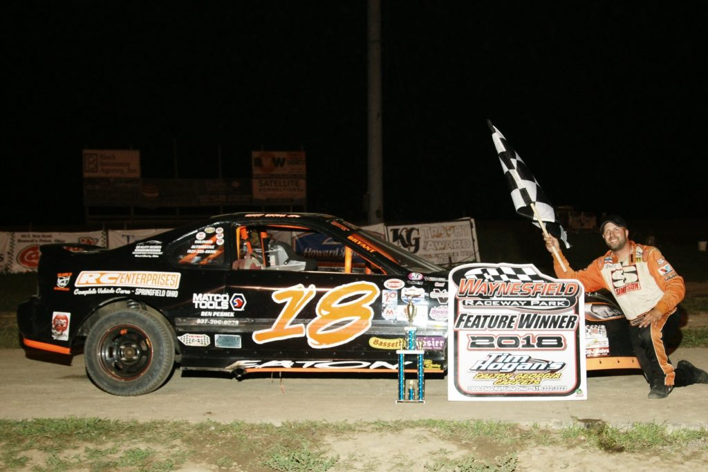 Gary Eaton - Vores Touring Compact Series Winner