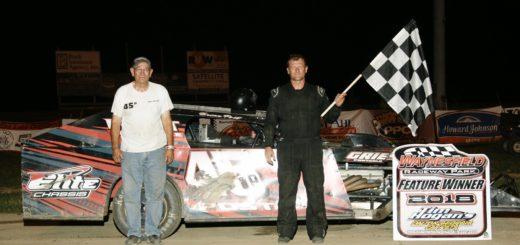 Brian Post - Satellite Connections UMP Modified Winner