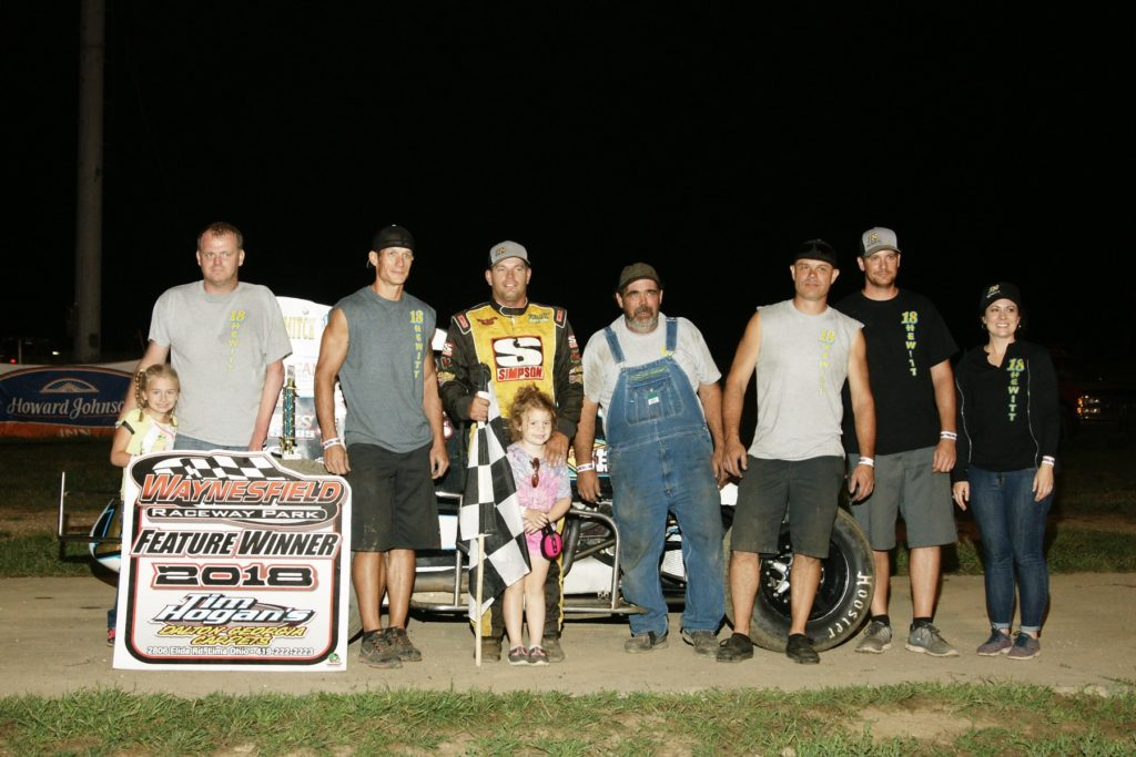 Dallas Hewitt - Quest Federal Credit Union Non Wing Sprint Winner